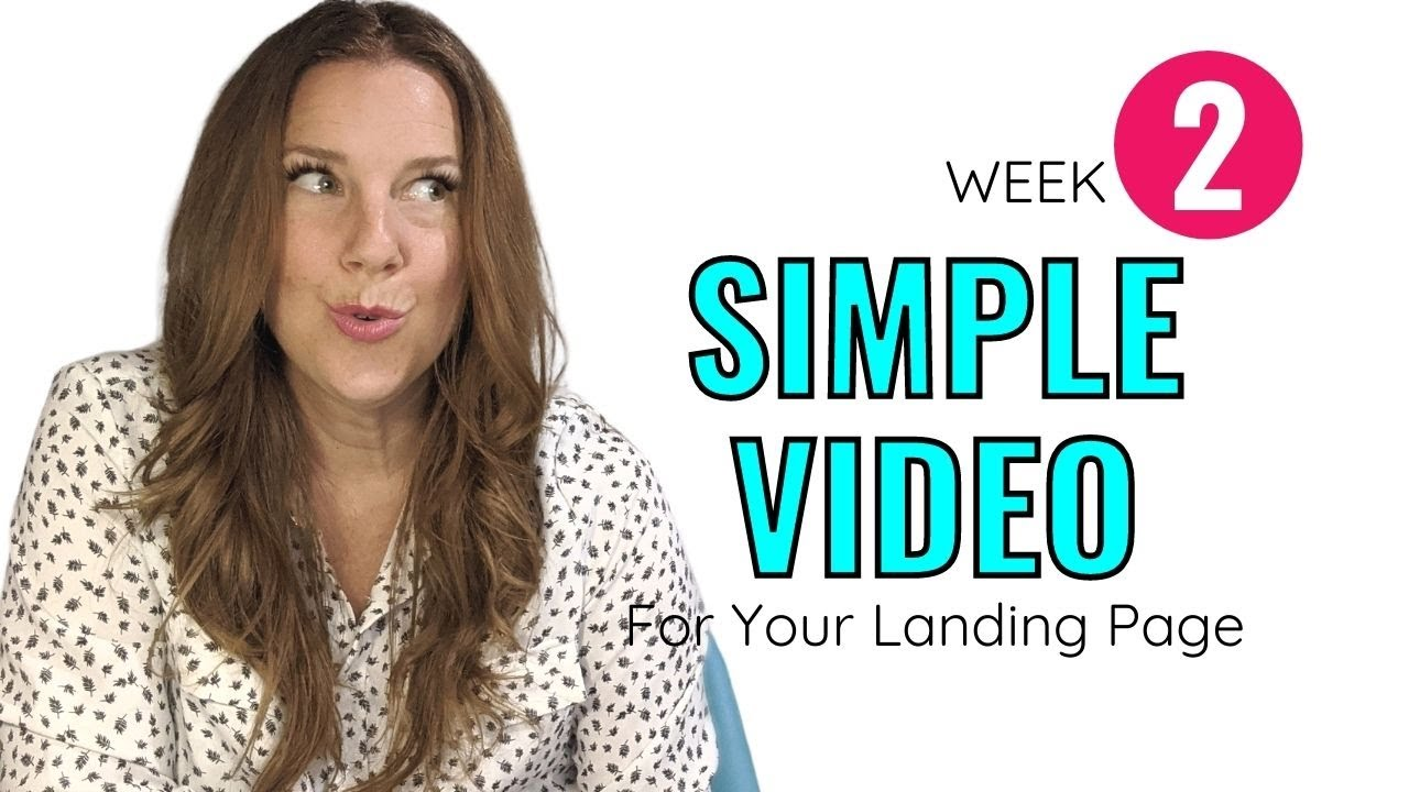 How to Create a Simple Video For Your Landing Page