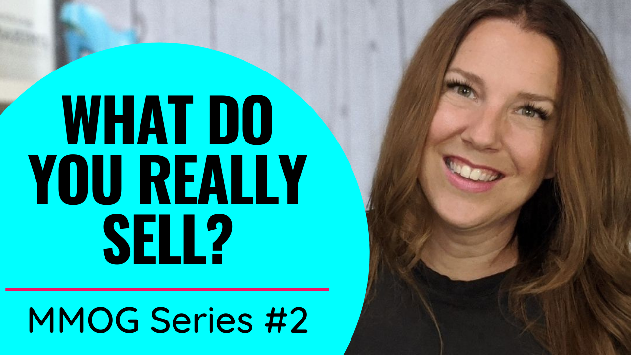What do you really sell? MMOG Series